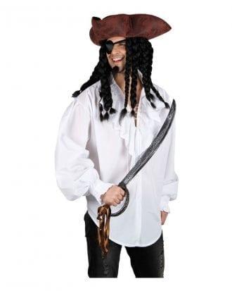 Piratskjorta Vit - Small