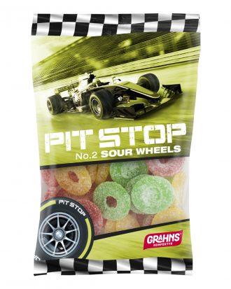 Pit Stop Sour Wheels - 160 gram
