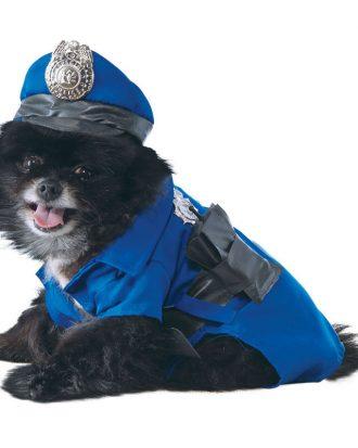 Polis Hund Maskeraddräkt - X-Large