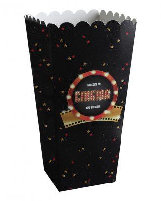 Popcornbägare Hollywood - 8-pack