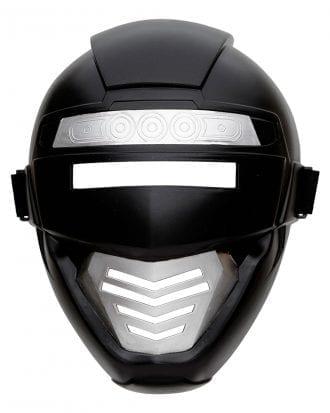 Power Rangers Svart Mask Barn - One size