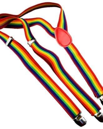 Pridefärgade Hängslen