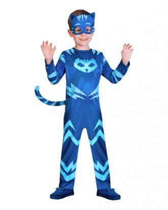 Pyjamashjältarna Kattpojken Barn Maskeraddräkt - Medium