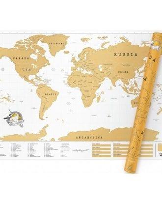 Scratch Map - Stor