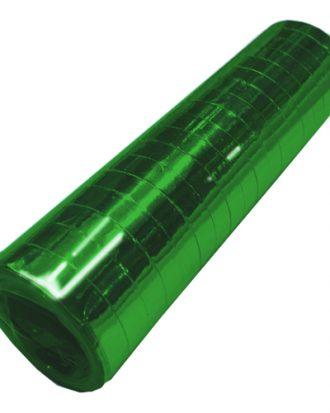 Serpentin Metallic Grön - 1-pack