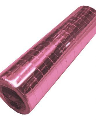 Serpentin Metallic Ljusrosa - 1-pack