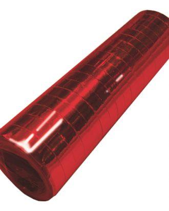 Serpentin Metallic Röd - 1-pack