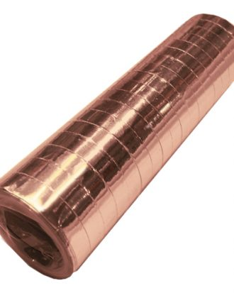 Serpentin Metallic Roséguld - 1-pack