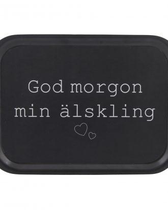 Serveringsbricka God Morgon