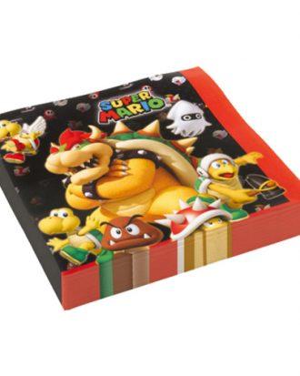 Servetter Super Mario - 20-pack