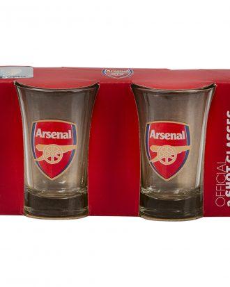 Shotglas Arsenal - 2-pack