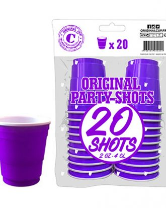 Shotglas Lila - 20-pack