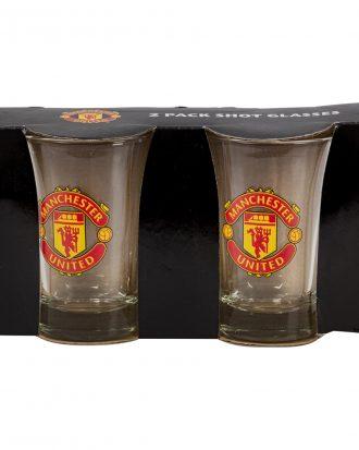Shotglas Manchester United - 2-pack