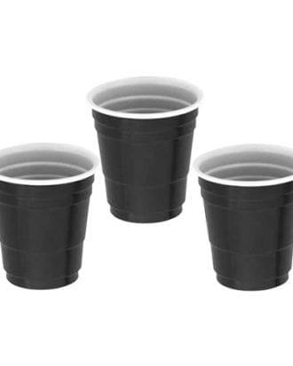Shotglas Party Svarta - 20-pack