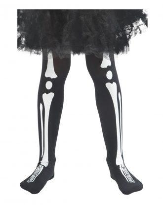 Strumpbyxor Skelett Barn - One size