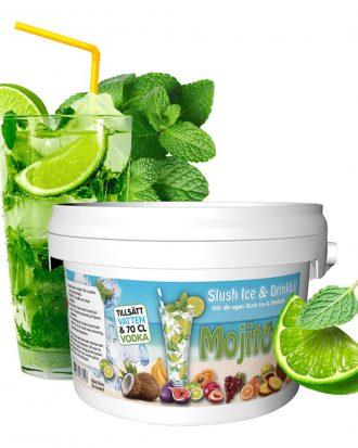 Slush Ice & Drinkbål - Mojito