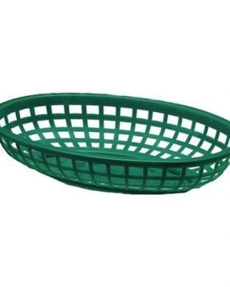Snabbmatskorg - Grön
