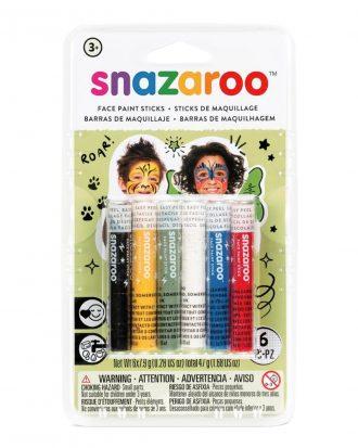 Snazaroo Ansiktskritor Rainbow