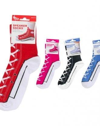 Sneaker Socks - Röda 33-37