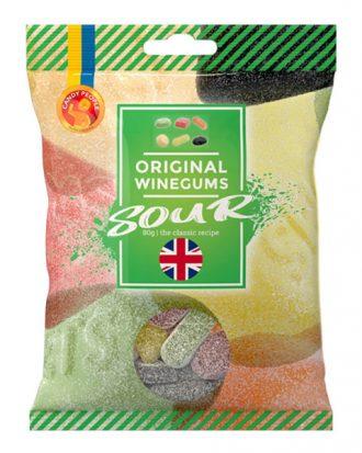 Sour Original Winegums Godispåse - 80 gram