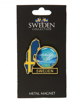 Souvenir Magnet Sweden Northern Lights