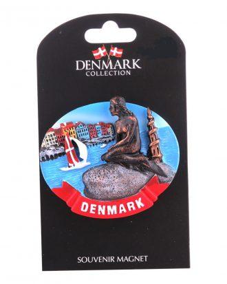 Souvenir Magnet Sjöjungfru Denmark