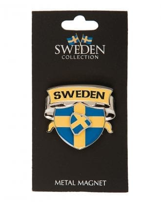 Souvenir Sweden Sköld Magnet