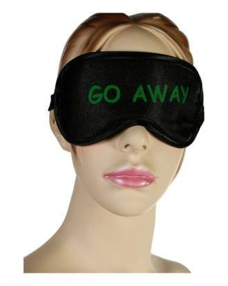 Ögonmask med Text - Go away