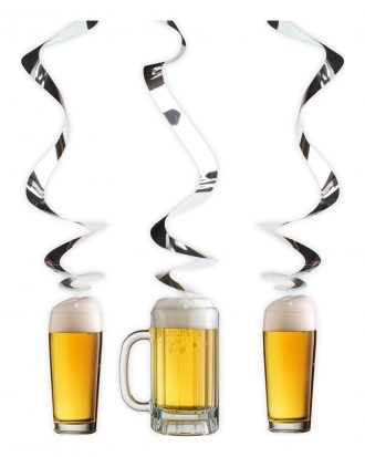 Spiraldekoration Hängande Ölglas