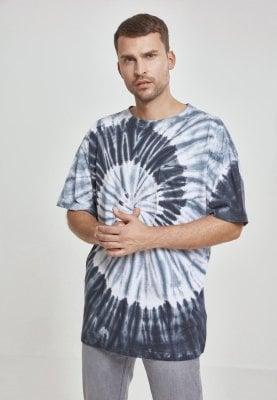 Batikmönstrad T-shirt med bröstficka (3XL
