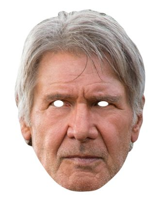 Pappmask  Han Solo Star Wars