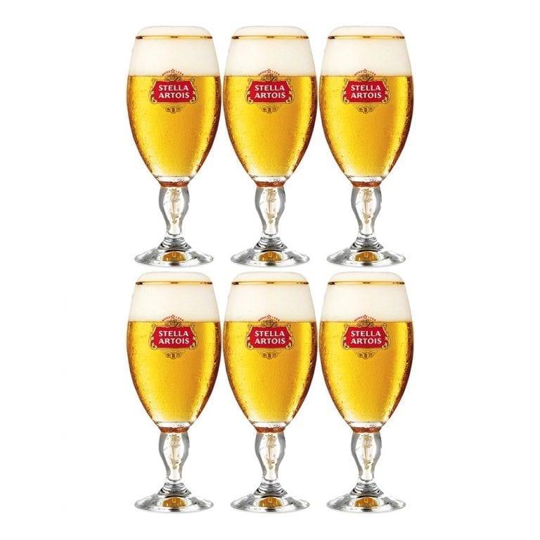 Stella Artois Ölglas - 6-pack