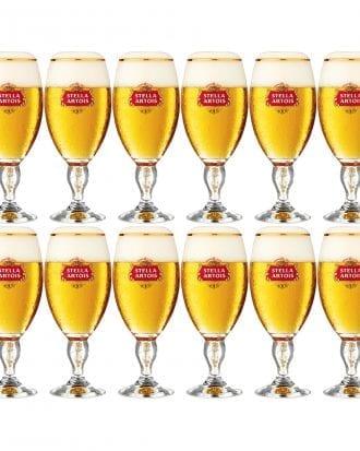 Stella Artois Ölglas - 12-pack