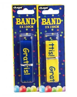 Studentband med Text - 1-pack