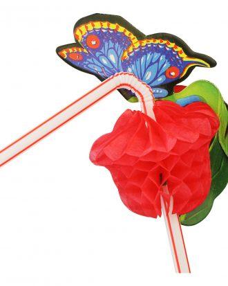 Sugrör Fjärilar - 24-pack