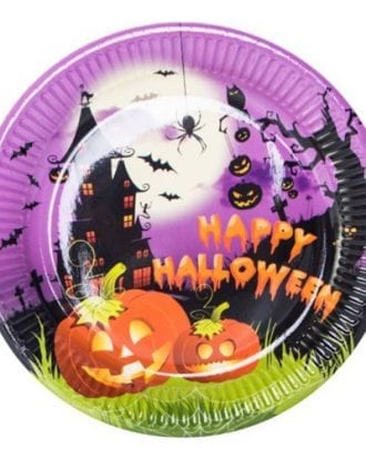 Tallrikar Happy Halloween - 8-pack