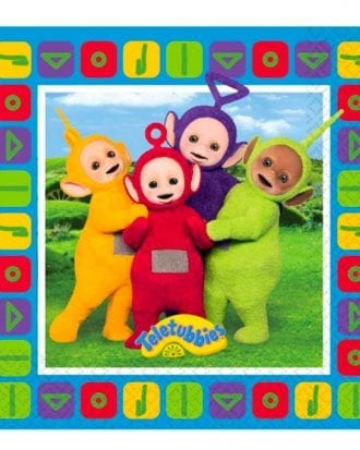 Teletubbies Servetter - 16-pack