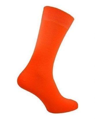 UV Neon Strumpor - Orange