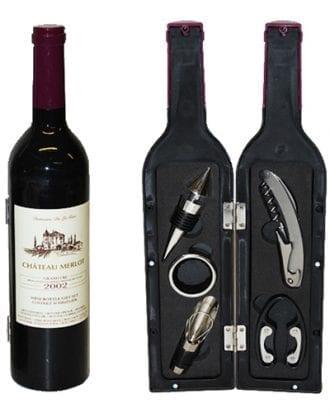 Vinflaska Presentset