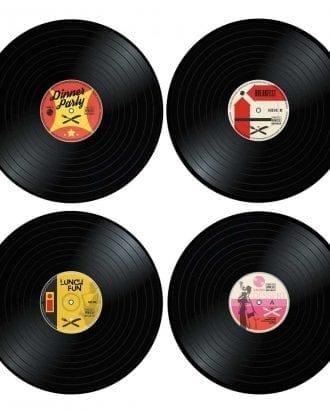 Vinyl Bordstablett - 4-pack