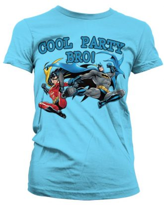 Batman - Cool Party Bro! Girly T-Shirt