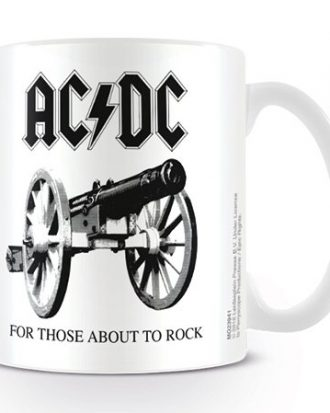 AC/DC Mugg Those About to Rock